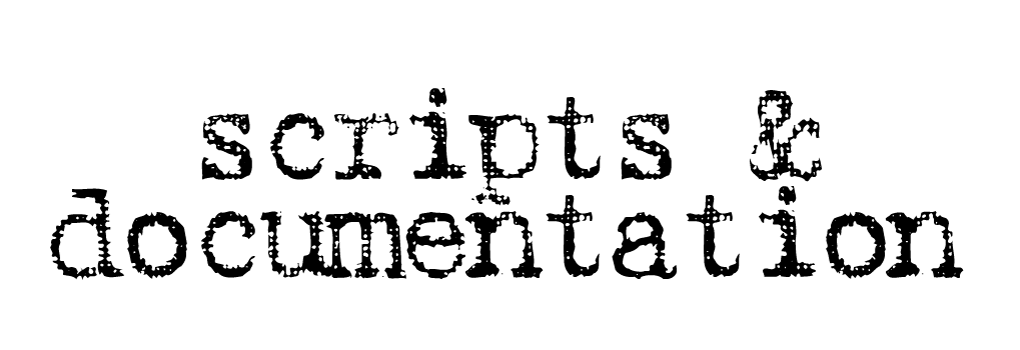 scripts_documentation